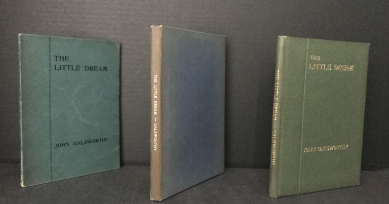 The Little Dream: An Allegory in Six Scenes [Rare Wrappered First Edition and Scarce Hardcover First Edition]. John Galsworthy.