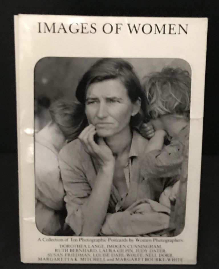 Images of Women: A Collection of Ten Photographic Postcards by Women Photographers. Dorothea Lange, Imogen Cunningham, Ruth Bernhard, Laura Gilpin, Judy Dater, Susan Friedman, Louise Dahl-Wolfe, Nell Dorr, Margaretta K. Mitchell, Margaret Bourke-White.
