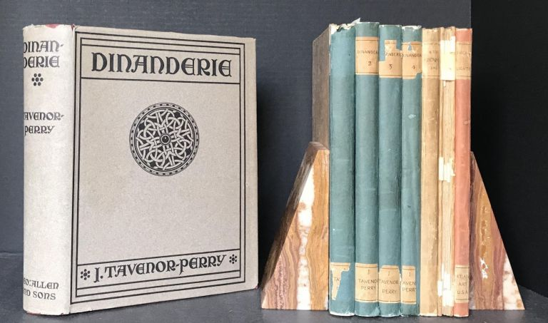 Dinanderie A History and Description of Mediaeval Art Work in Copper Brass and Bronze [WITH ORIGINAL DRAWINGS]. J. Tavenor-Perry, John.