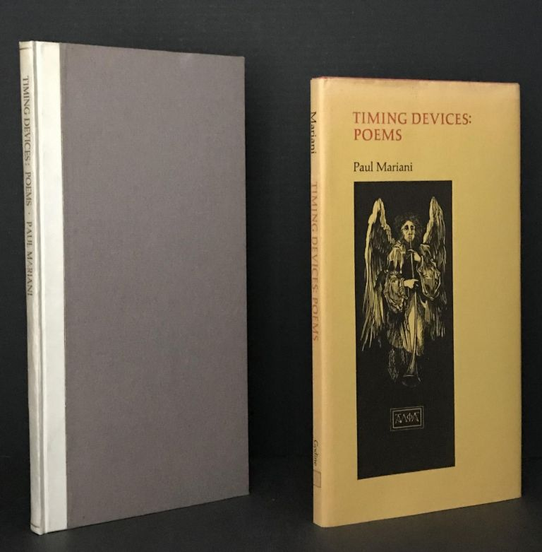 Timing Devices: Poems [the Limited Edition and the Trade Edition being an ASSOCIATION COPY, both SIGNED]. Paul Mariani, Barry Moser, Illustrations.