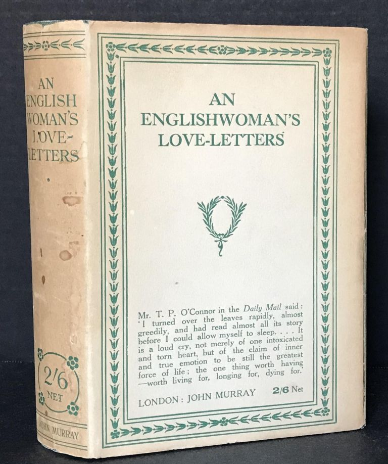 An Englishwoman's Love-Letters. Anonymous, Laurence Housman.