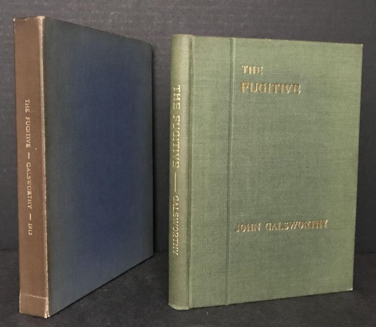 The Fugitive ; A Play in Four Acts. John Galsworthy.