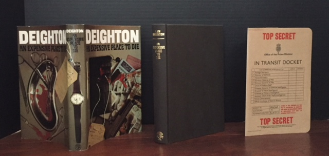 An Expensive Place to Die [Complete with the In Transit Docket]. Len Deighton.