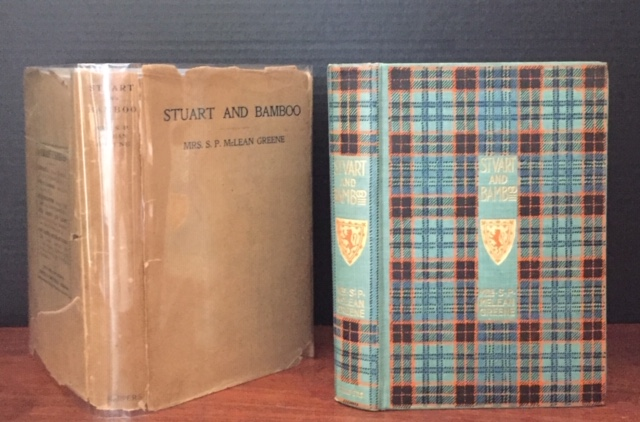 Stuart and Bamboo [in the RARE DUST JACKET]. Mrs. S. P. McLean Greene, Mrs. Sarah Platt McLean Greene.