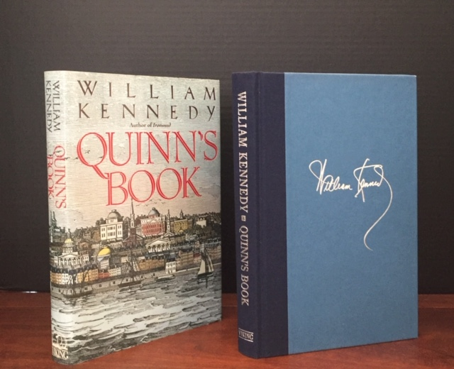 Quinn's Book [Signed]. William Kennedy.