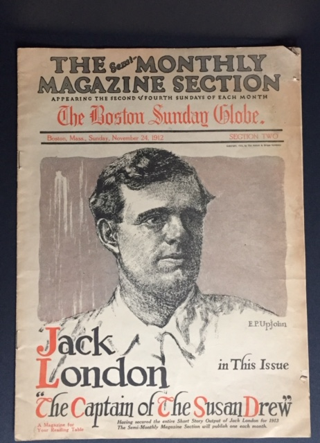 The Captain of the Susan Drew [First Appearance in Print]. Jack London, Todahl John O.