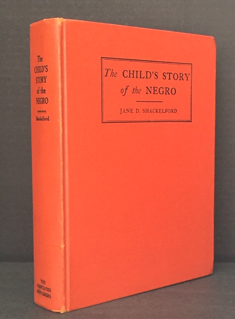 The Child's Story of the Negro [Signed]; Jones, Lois Mailou [Illustrator]. Jane D. Shackelford.