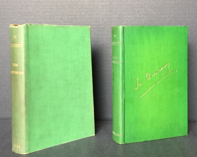 In Chancery [In the Dust Jacket]. John Galsworthy.