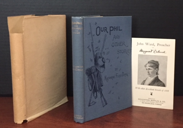 Our Phil, and Other Stories [Complete with Rare Dust Jacket and Publisher's Marketing Card]. Katharine Floyd Dana.