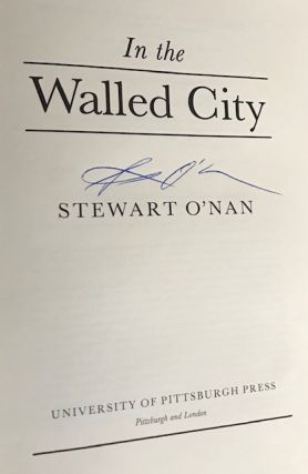 In the Walled City [Signed Review Copy of Debut Book]