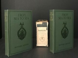 From Sea to Sea [a/k/a Letters of Travel]; TRUE FIRST EDITION IN PUBLISHER'S ORIGINAL LABELED BOX
