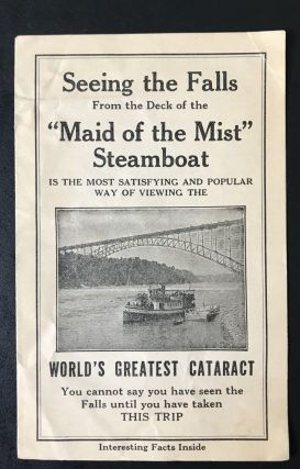 Maid of the Mist tour of Niagara Falls [Advertisement]. No Author Stated, Anthony Trollope,...