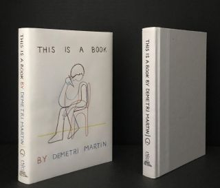 This is a Book [Signed]. Demetri Martin