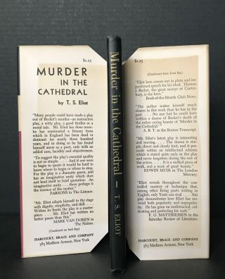 Murder in the Cathedral: A Dramatization of the murder of Thomas Becket at Canterbury