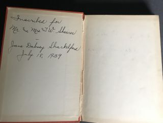 The Child's Story of the Negro [SIGNED]