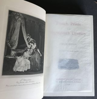 French Prints of the Eighteenth Century [In the Scarce dust jacket]