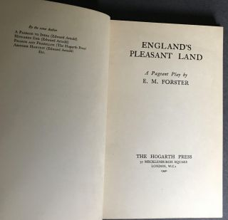England's Pleasant Land: A Pageant Play