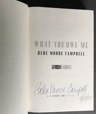 What You Owe Me [Signed]