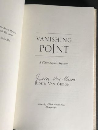 Vanishing Point [Signed]