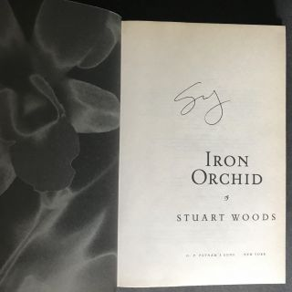 Iron Orchid [Signed]