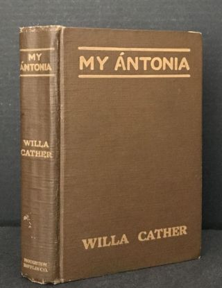 My Antonia. Willa Cather