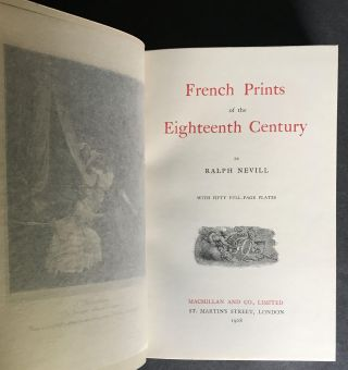 French Prints of the Eighteenth Century [In the Scarce dust jacket, Complete with Marketing Booklet]