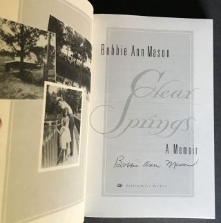 Clear Springs [Signed]