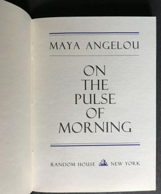 On the Pulse of the Morning