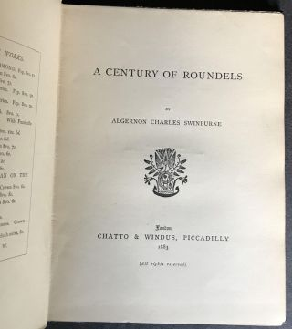 A Century of Roundels [in the EXCEEDINGLY RARE DUST JACKET]