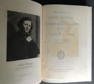The Letters of Robert Browning and Elizabeth Barrett Browning 1845-1846