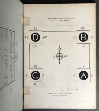 Original Drawings for Some Remains of a Wooden Ambone in the Victoria and Albert Museum by J. Tavenor-Perry