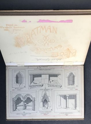 Original Drawings for Piscinas by J. Tavenor-Perry