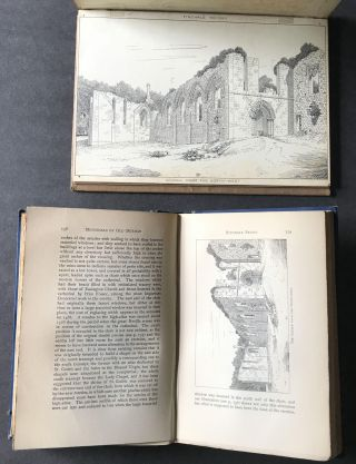 "Original Drawings for Finchale Priory by J. Tavenor-Perry TOGETHER WITH ""Memorials of Old Durham"" (the book in which such drawings appeared)"