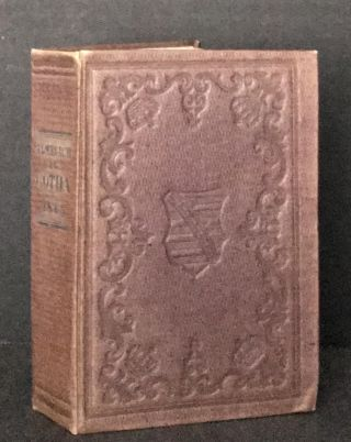 Almanach de Gotha Pour L'Annee 1845 [EXCEEDINGLY AND EXTRAORDINARILY EARLY ORIGINAL RARE DUST JACKET]