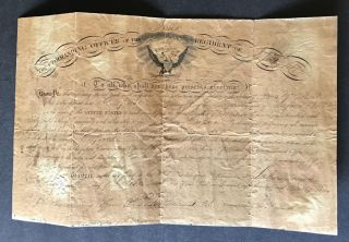 Civil War: Appointment of James McNeil to the Rank of Corporal [Civil War] [Certificate of...