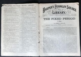 The Fixed Period [EXCEEDINGLY RARE FIRST AMERICAN EDITION]
