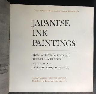 Japanese Ink Paintings from American Collections: The Muromachi Period