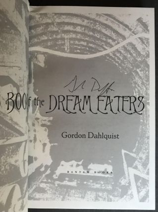 The Glass Books of the Dream Eaters [SIGNED]