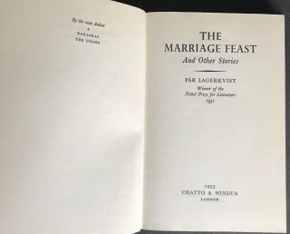The Marriage Feast