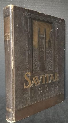 The 1932 Savitar A History of the University of Missouri for the Year 1931-1932 [First Appearance...