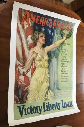 Americans All! Victory Liberty Loan: Du Bois, Smith et. al. Howard Chandler Christy
