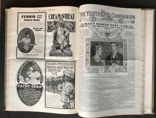 Title: The Youth's Companion, Volume 76, 26 issues from January 2, 1902 to June 26, 1902, Including Jack London's To Build a Fire as well as work by Kate Chopin, Willa Cather, Theodore Roosevelt, Homer Green, and Others