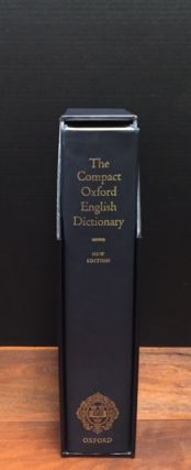 The Compact Oxford English Dictionary. Multiple Authors.