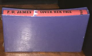 Cover Her Face [In Original Shrinkwrap]. P. D. James.