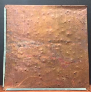 Original Copper Roof Tile from a Frank Lloyd Wright Church