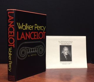 Lancelot [Signed]. Walker Percy.