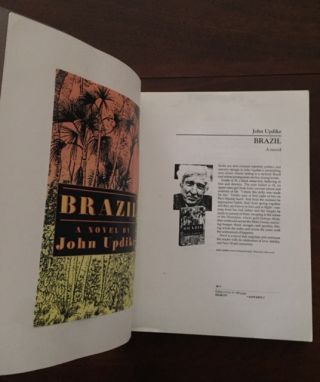 Brazil [SCARCE Uncorrected Galley Proof]