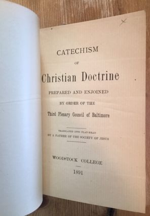 Catechism of Christian Doctrine prepared and enjoined by order of the Third Plenary Council of Baltimore. Translated into Flat-Head by a Father of the Society of Jesus [Attributed to Jesuit Missionary Felipe Canestrelli]
