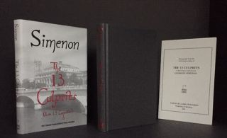 The Thirteen Culprits [SIGNED; COMPLETE with the Photograph Booklet] [Les 13 Coupables]. Georges Simenon.