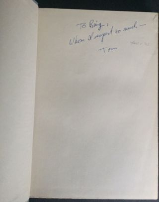 The Night of Trees [Signed Association Copy together with Two Letters from Williams to the inscribee]